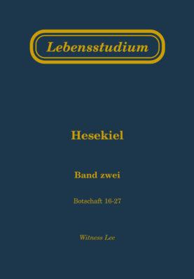 Lebensstudium Hesekiel (Band 2)