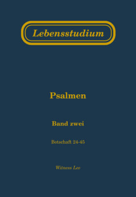 Lebensstudium Psalmen (Band 2)