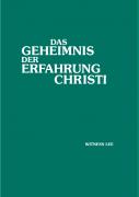 Das Geheimnis der Erfahrung Christi